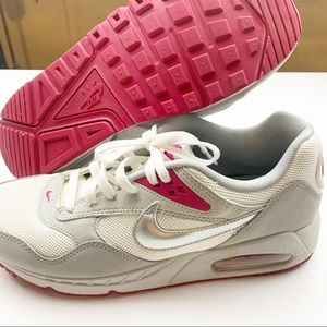 Nike Air Max Pink Silver Correlate Running Sneaker